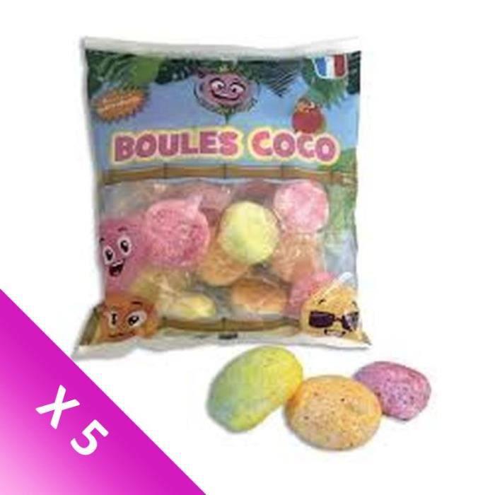 [LOT DE 5] ZIP ET ZAP Boules coco - 180 g