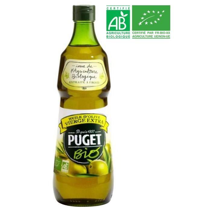Huile d'olive bio 75 cl Puget