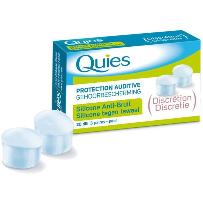 QUIES PROTECTION AUDITIVE DISCRETION