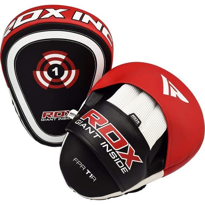 RDX Pattes d'ours Boxe MMA Incurvé Muay Thai Pao Frappe Entraînement Cible Kick Boxing Pads Mitaines