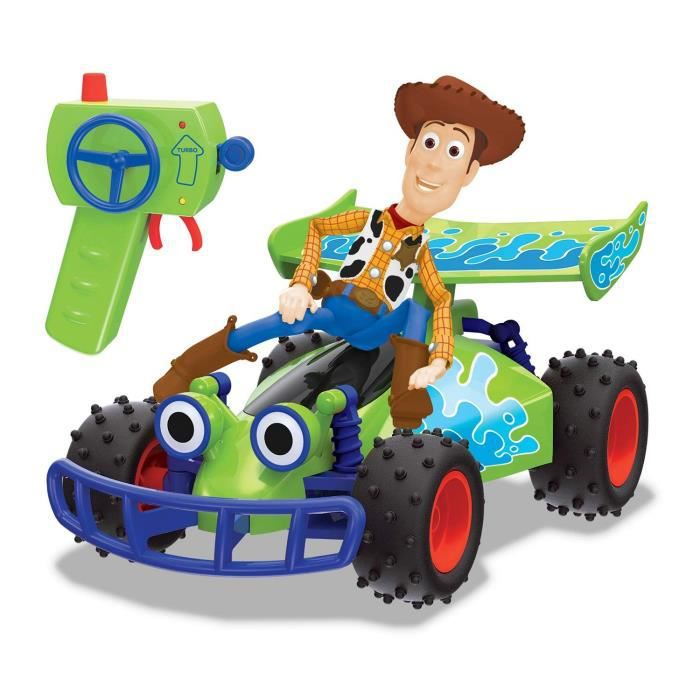 MAJORETTE Toy Story RC Buggy Woody Fonction Turbo