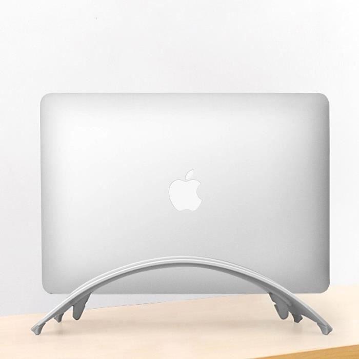 Support Vertical en aluminium pour Pc Portable, Apple Mac, Mac Pro etc... ( Argent )
