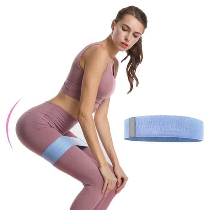 SURENHAP 74 cm Ceintures Élastique Bandes de Résistance sportive ceintures de yoga extensibles accessoires d'exercice BL