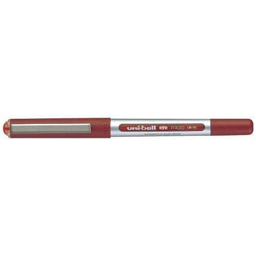 Uni-Ball UB-150 Eye Micro Lot de 12 stylos rollers Rouge