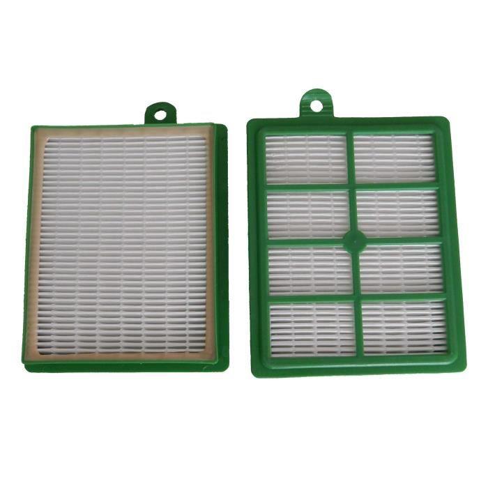 Filtres de remplacement HEPA pour AEG Clario 7571, 7572, AEC 7570 - Idéal pour les personnes allergiques, grande surface de filtr...