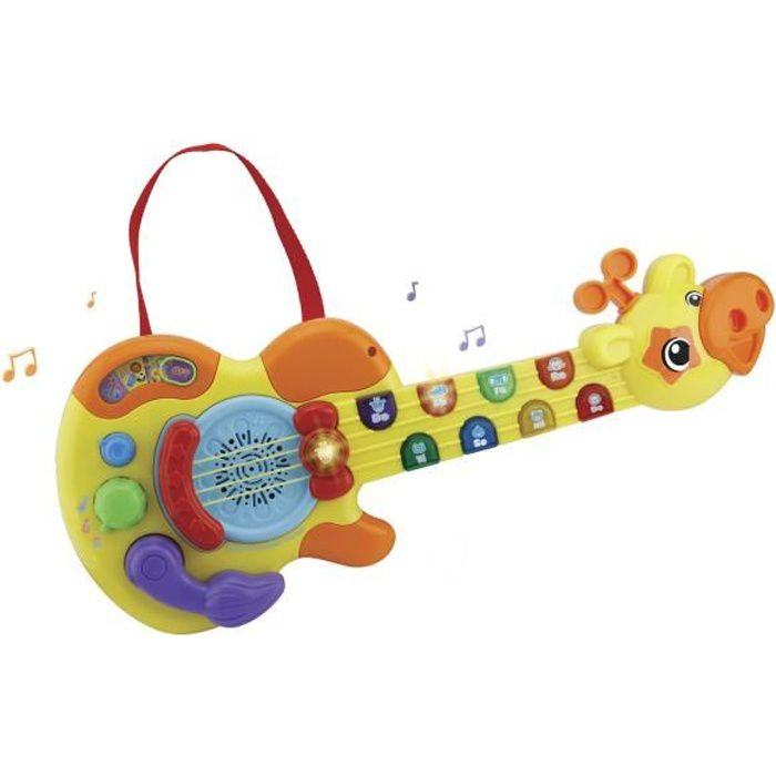 VTECH BABY - Jungle Rock - Guitare Girafe - Jouet Musical Enfant