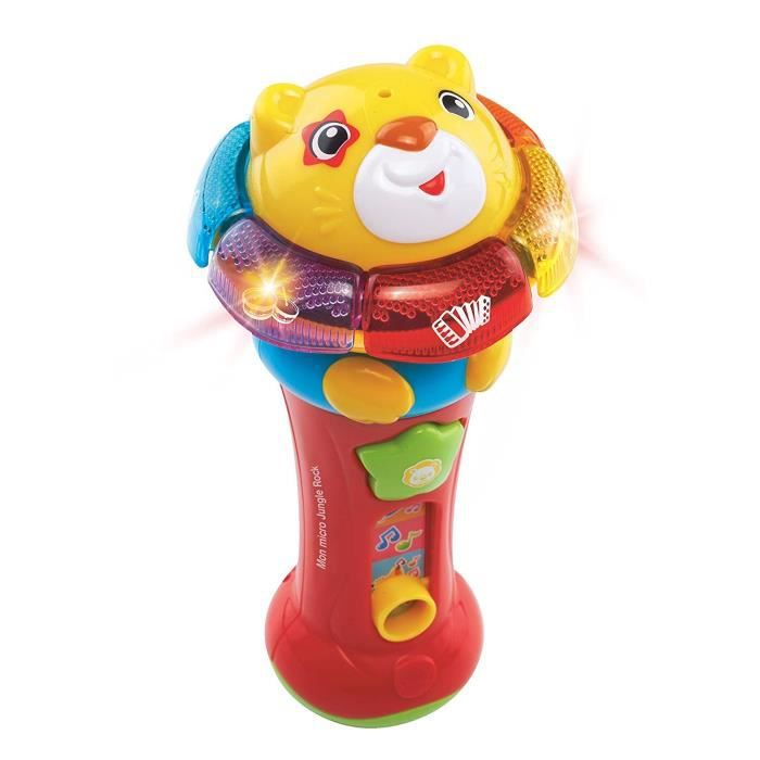 VTECH - Jungle Rock - Mon Micro Lion - Jouet Musical Enfant