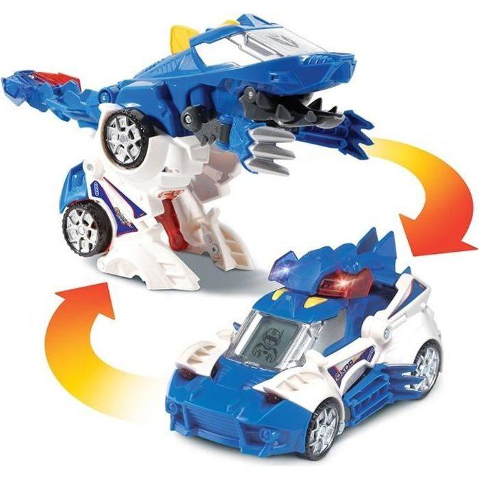 VTECH - Switch & Go Dinos - Oxor, Super Thérizinosaure (Voiture de police)