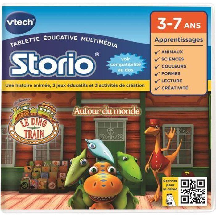 VTECH Jeu Educatif Storio Le Dino Train