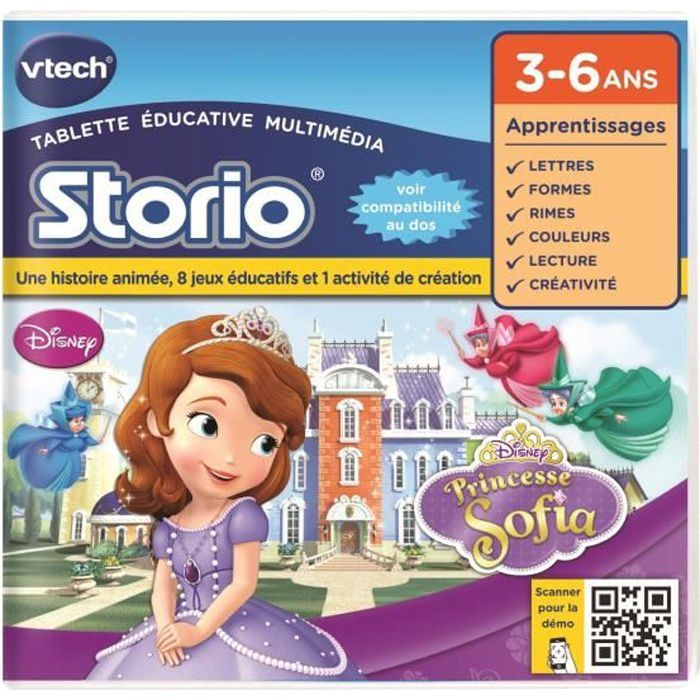 VTECH - Tablette éducative Princesse Sofia