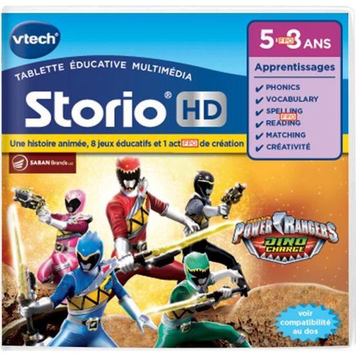 VTECH - Jeu Éducatif Storio - Power Rangers