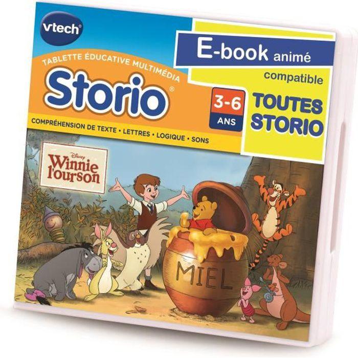 VTECH Jeu Storio Winnie L'Ourson