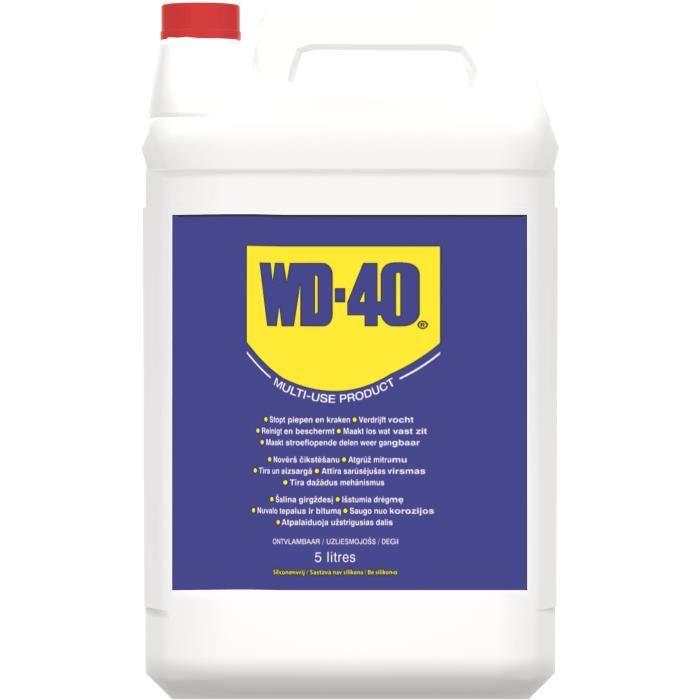 WD-40 Produit Multifonction en bidon 5L