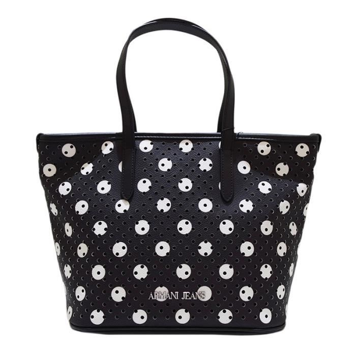 Sac Shopping Armani Jeans Petite polka dot print-par le biais de -  Colore Nero Color Noir 2cd79b7c7048