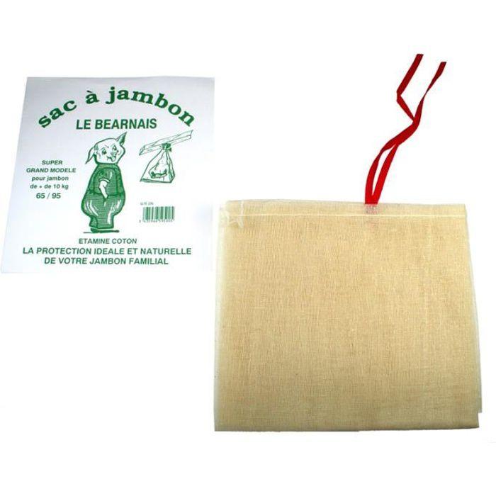 SAC A JAMBON 60 X 70 CM pour JAMBON DE 7 KG
