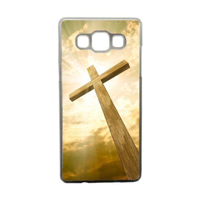 COQUE - BUMPER Coque la croix du christianisme compatible samsung