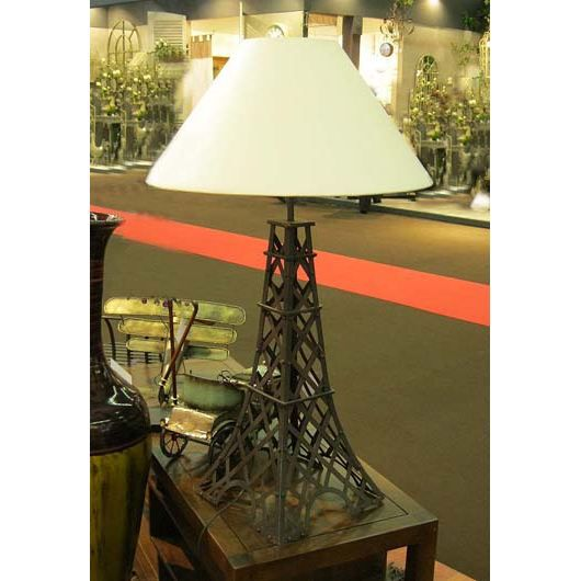 lampe industrielle tour eiffel achat vente lampe. Black Bedroom Furniture Sets. Home Design Ideas