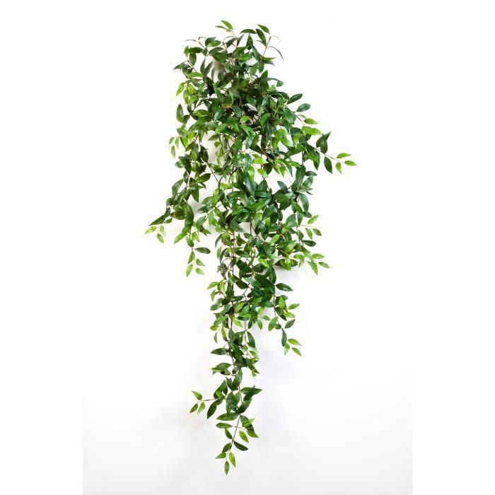 Plante Artificielletradescantia Fluminensis 730 Feuilles Vertes 125 Cm Plante Artificielle Tombante Buisson Artificiel Achat Vente Fleur Artificielle Cdiscount