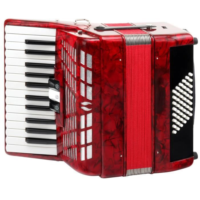 accordeon touches piano pas cher achat vente cdiscount. Black Bedroom Furniture Sets. Home Design Ideas