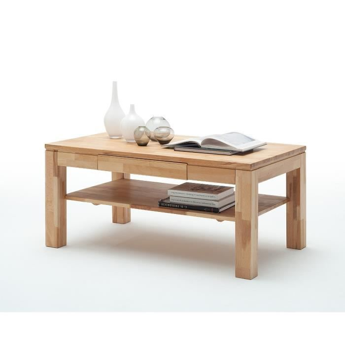 Table basse 110 x 70 cm luc l 110 x p 70 x h 54 cm for Table cuisine 70 x 110