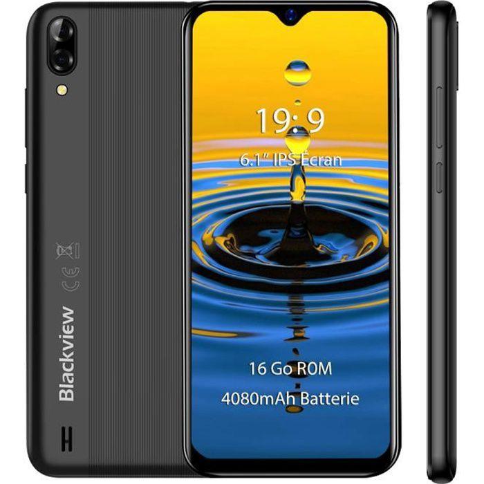 """SMARTPHONE Smartphone Blackview A60 16Go 6.1"""" Écran Goutte d'"""