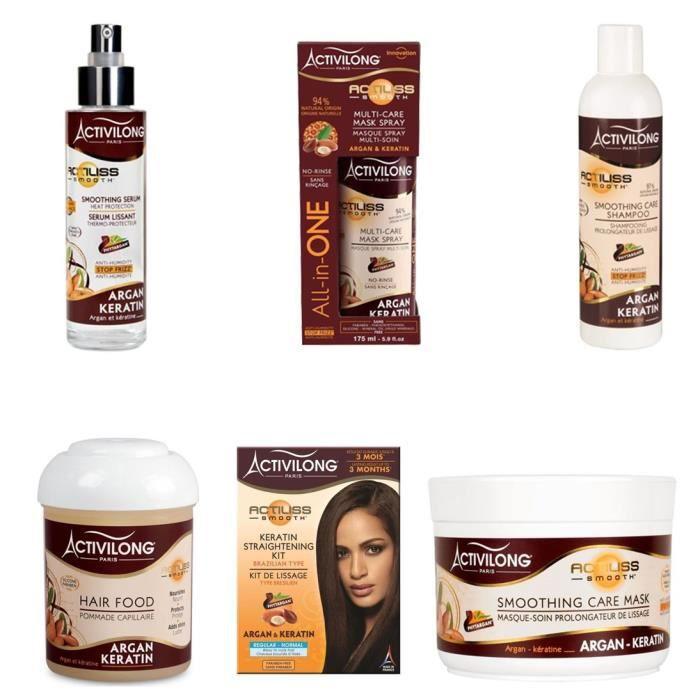 SHAMPOING Activilong - Kit gamme Actiliss - Cheveux lissés