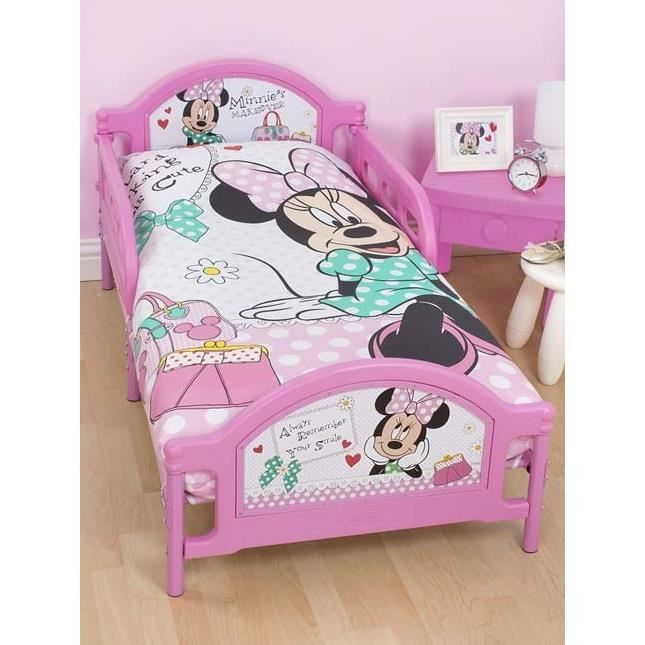 minnie lit junior pour enfant 150 cm achat vente. Black Bedroom Furniture Sets. Home Design Ideas