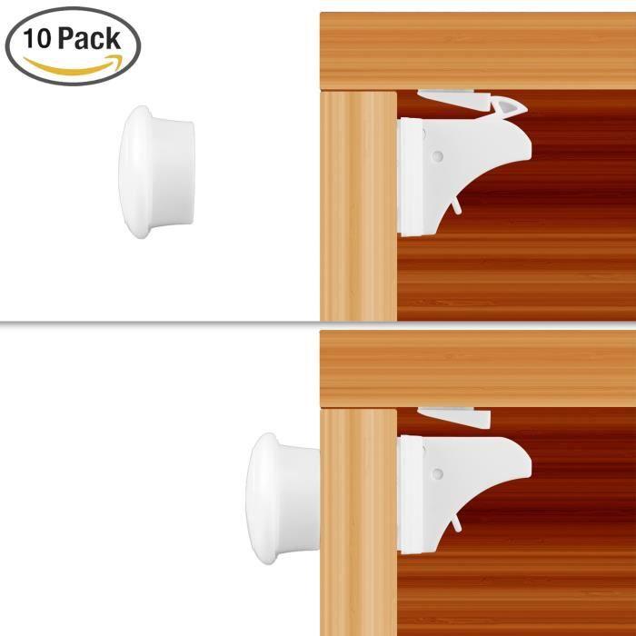 Placard Cabinet Porte Armoire 1x Marron Magnétique Heavy Duty captures 4 kg traction