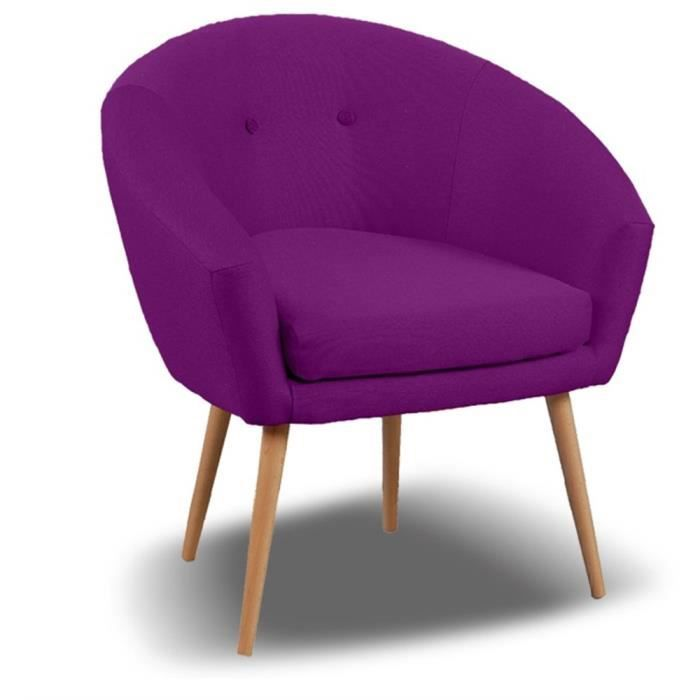 fauteuil switsofa michigan tissu prune achat vente fauteuil violet cdiscount. Black Bedroom Furniture Sets. Home Design Ideas
