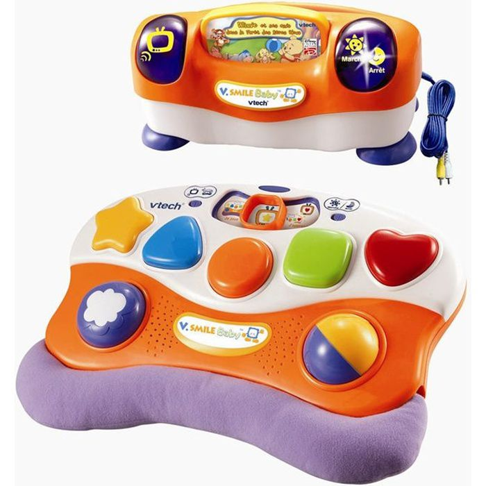 vtech console v smile baby achat vente console ducative cdiscount. Black Bedroom Furniture Sets. Home Design Ideas