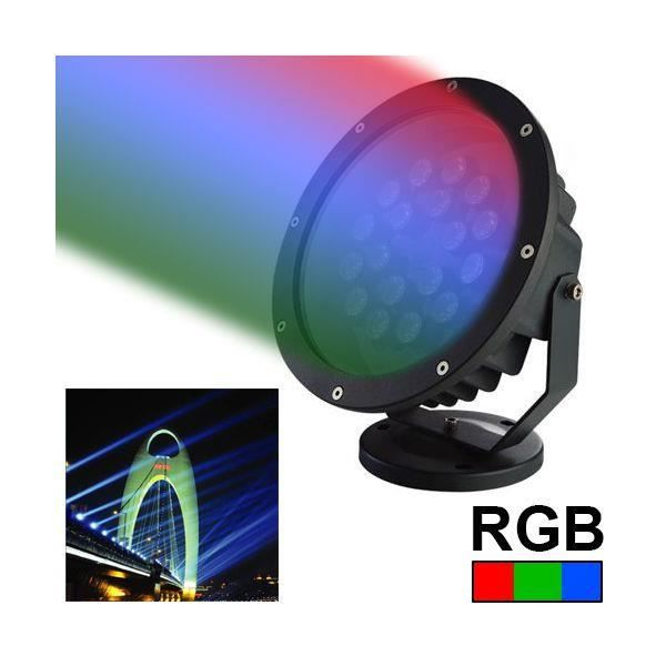 projecteur led spot rgb clairage jardin alumin achat vente projecteur ext rieur. Black Bedroom Furniture Sets. Home Design Ideas