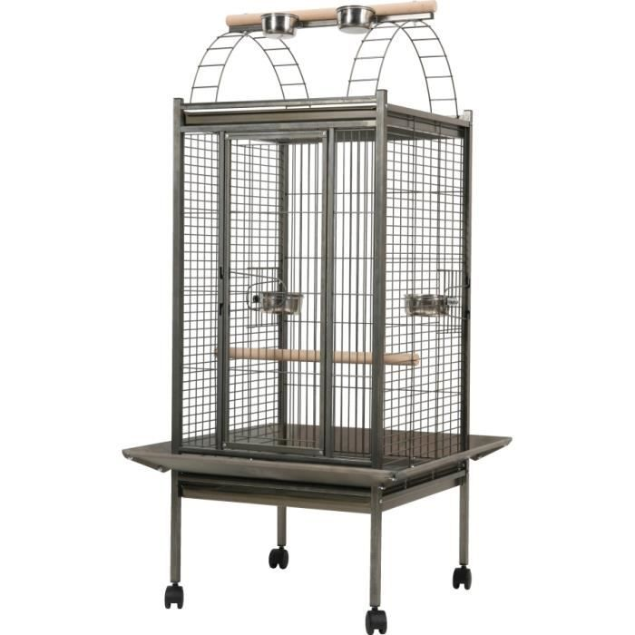cage perroquet africa vernie mm achat vente voli re cage oiseau cage perroquet africa. Black Bedroom Furniture Sets. Home Design Ideas
