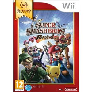 JEUX WII Super Smash Bros Brawl Selects Jeu Wii