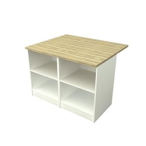 Ilot central achat vente ilot central pas cher cdiscount for Ilot central table pas cher