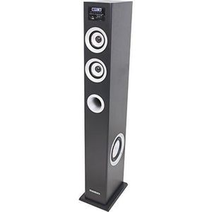 MAD MAD-CENTER100BK Colonne multimedia amplifiée - Tuner FM - USB / SD / Bluetooth - 100W