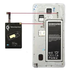 CHARGEUR TÉLÉPHONE Chargeur sans fil et adaptateur Samsung Galaxy Not