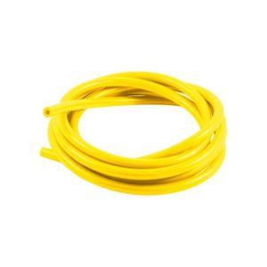 Tuyau essence couleur jaune fluo.5 x 8/cm.