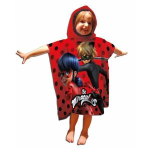 PEIGNOIR Ladybug, Poncho de bain Miraculous à capuche