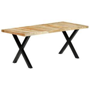 TABLE À MANGER SEULE Table à manger 6 à 8 personnes - Style vintage - 1