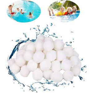 POMPE - FILTRATION Boules filtrantes 700 g pour piscines,