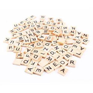 CASSE-TÊTE ss-33-100pcs tuiles de scrabble lettres alphabet p