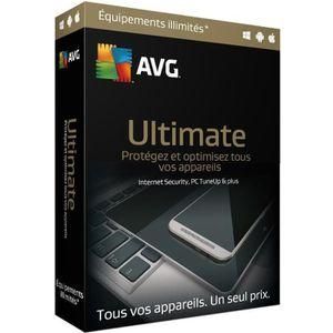 ANTIVIRUS AVG Ultimate (2 ans, illimité)