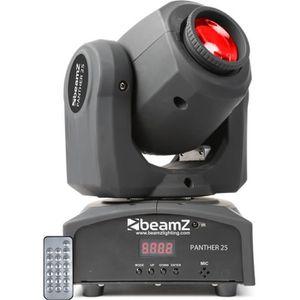 LAMPE ET SPOT DE SCÈNE BeamZ Panther 25 Projecteur lyre 25 Spot à LEDs 7