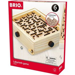 PUZZLE BRIO - 34000 - Jeu De Labyrinthe - L'Original