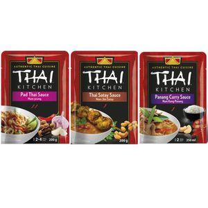 SAUCE CHAUDE THAI KITCHEN Lot d'1 Sauce Pad Thai + 1 Sauce Thai
