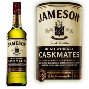 WHISKY BOURBON SCOTCH JAMESON CASKMATES 40° 70