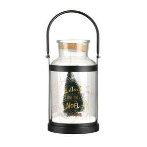 LAMPE A POSER THE HOME DECO FACTORY Lampe Led de Noël Anse - En