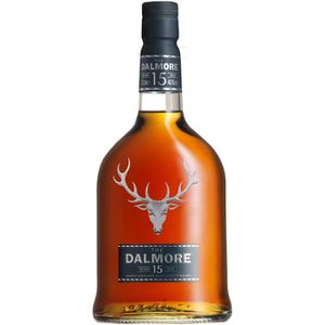 WHISKY BOURBON SCOTCH Dalmore 15 ans 40° 70cl