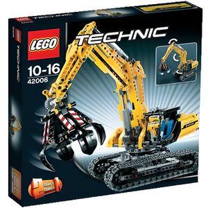 ASSEMBLAGE CONSTRUCTION Lego Technic 42006 La pelleteuse