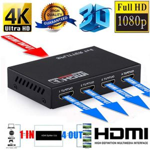 REPARTITEUR TV Letouch Convertisseur TV HDMI Splitter 4 ports 108